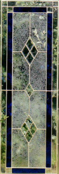 stained glass inlay